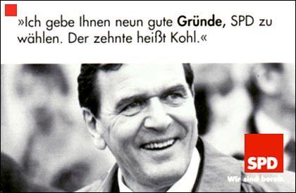 Hat Kanzler Schröder immer noch gut lachen?