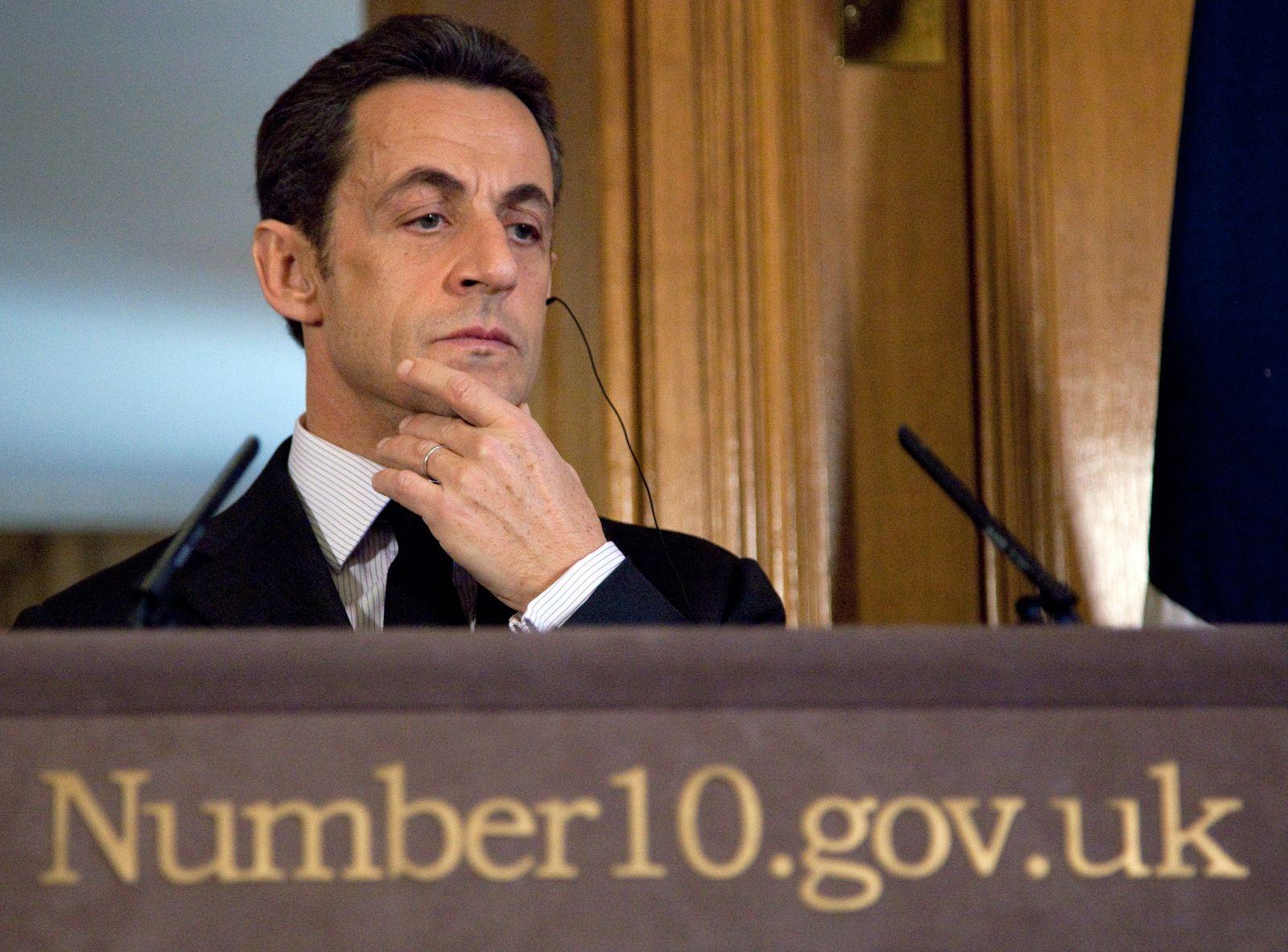 Sarkozy / London / Frankreich / Wahlen