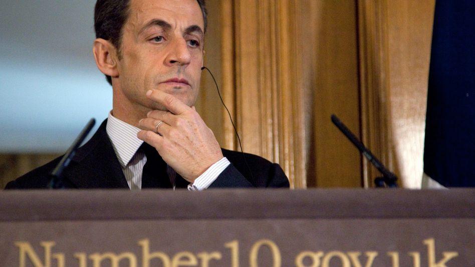 Sarkozy: Dem Präsidenten droht ein Debakel bei den Regionalwahlen