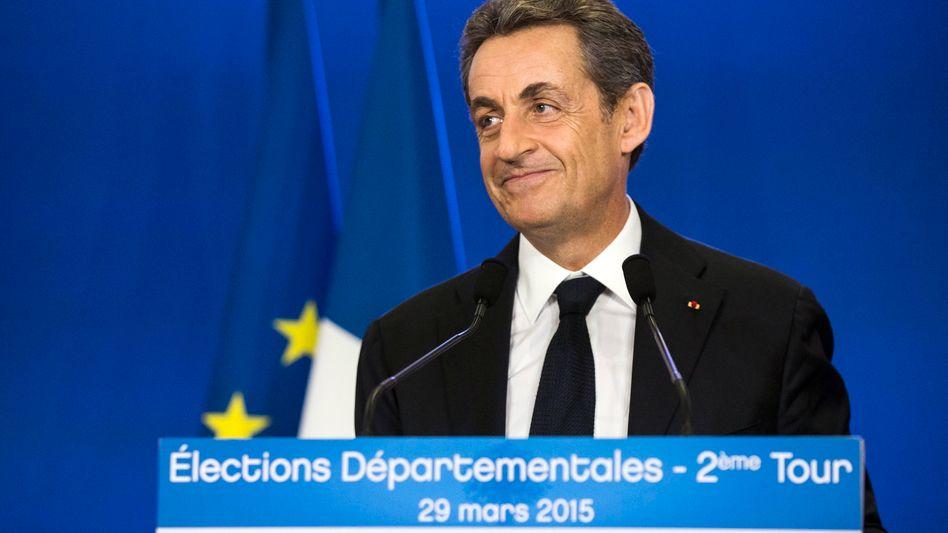 """Frankreichs Departementswahlen: Zweite Chance für """"Monsieur Bling-Bling"""""""