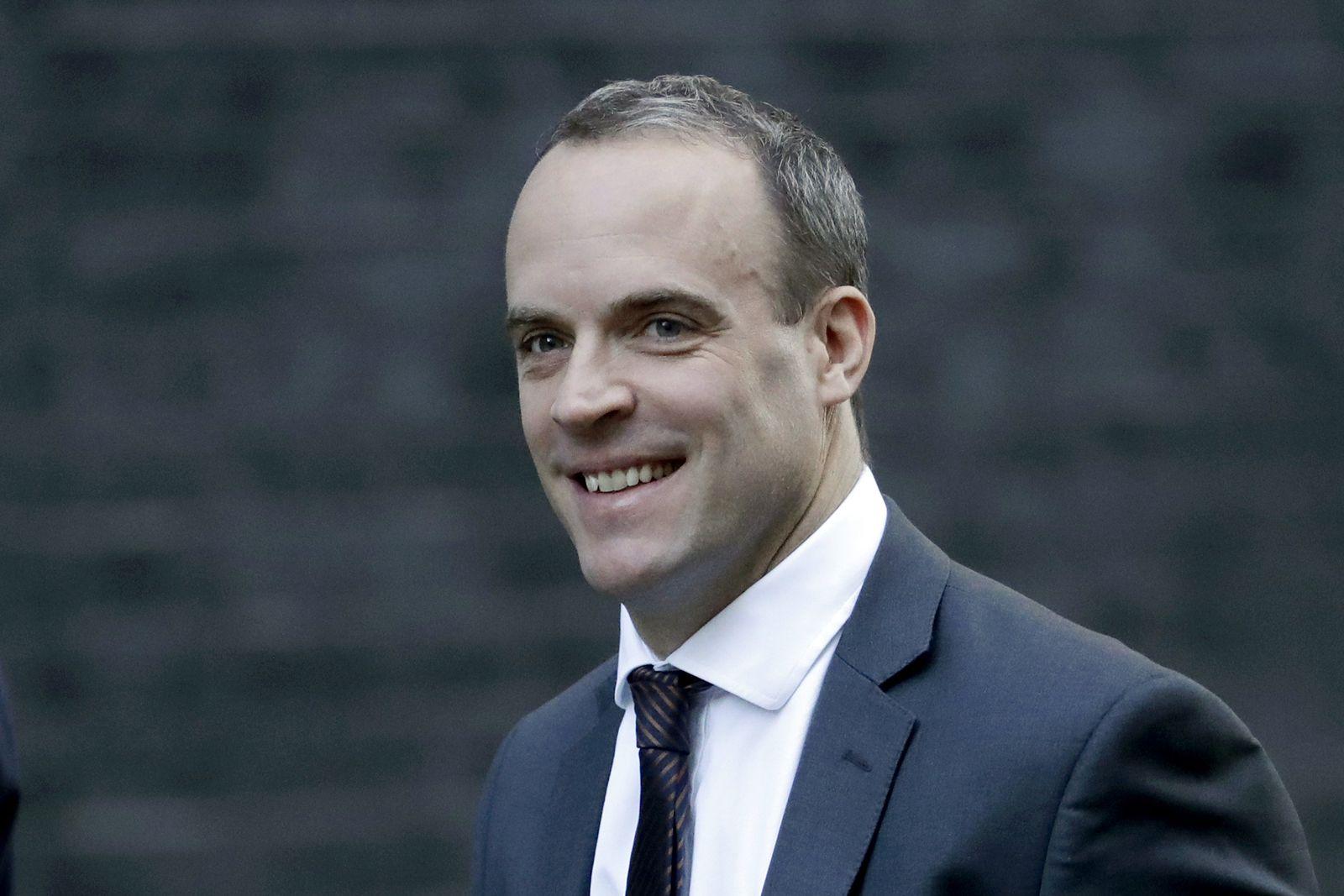 Dominic Raab Kabinett