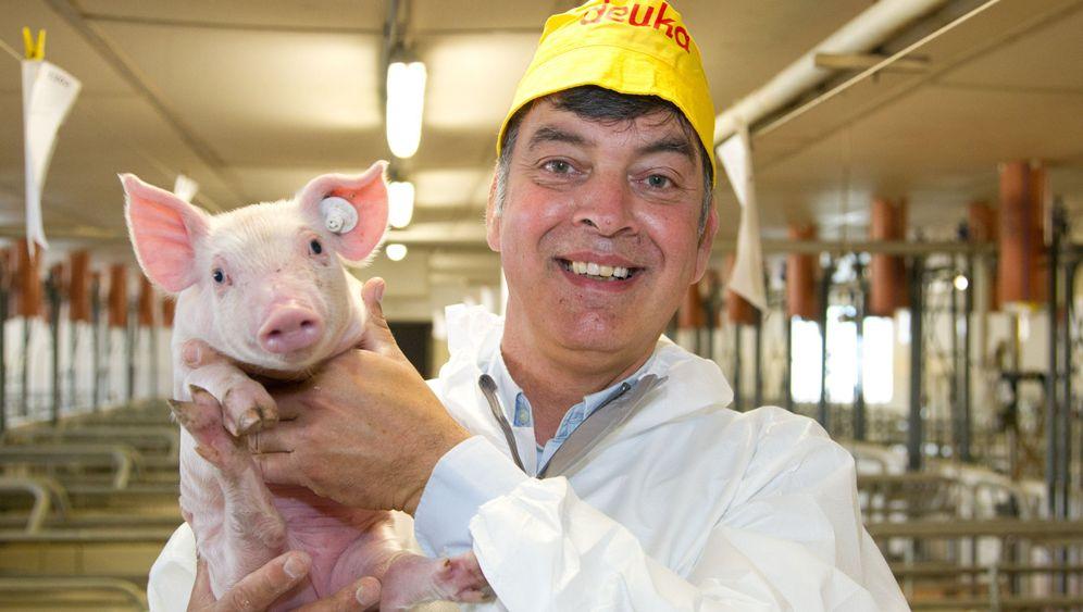 Schweineflüsterer: Mit Disco-Nebel in den Stall