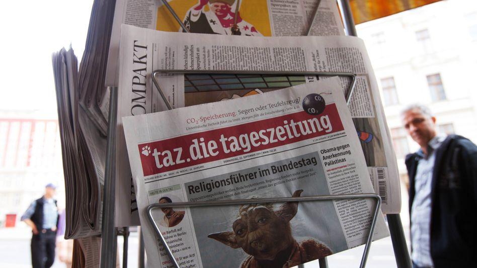 Tageszeitungen: Eher die leisen Töne anschlagen