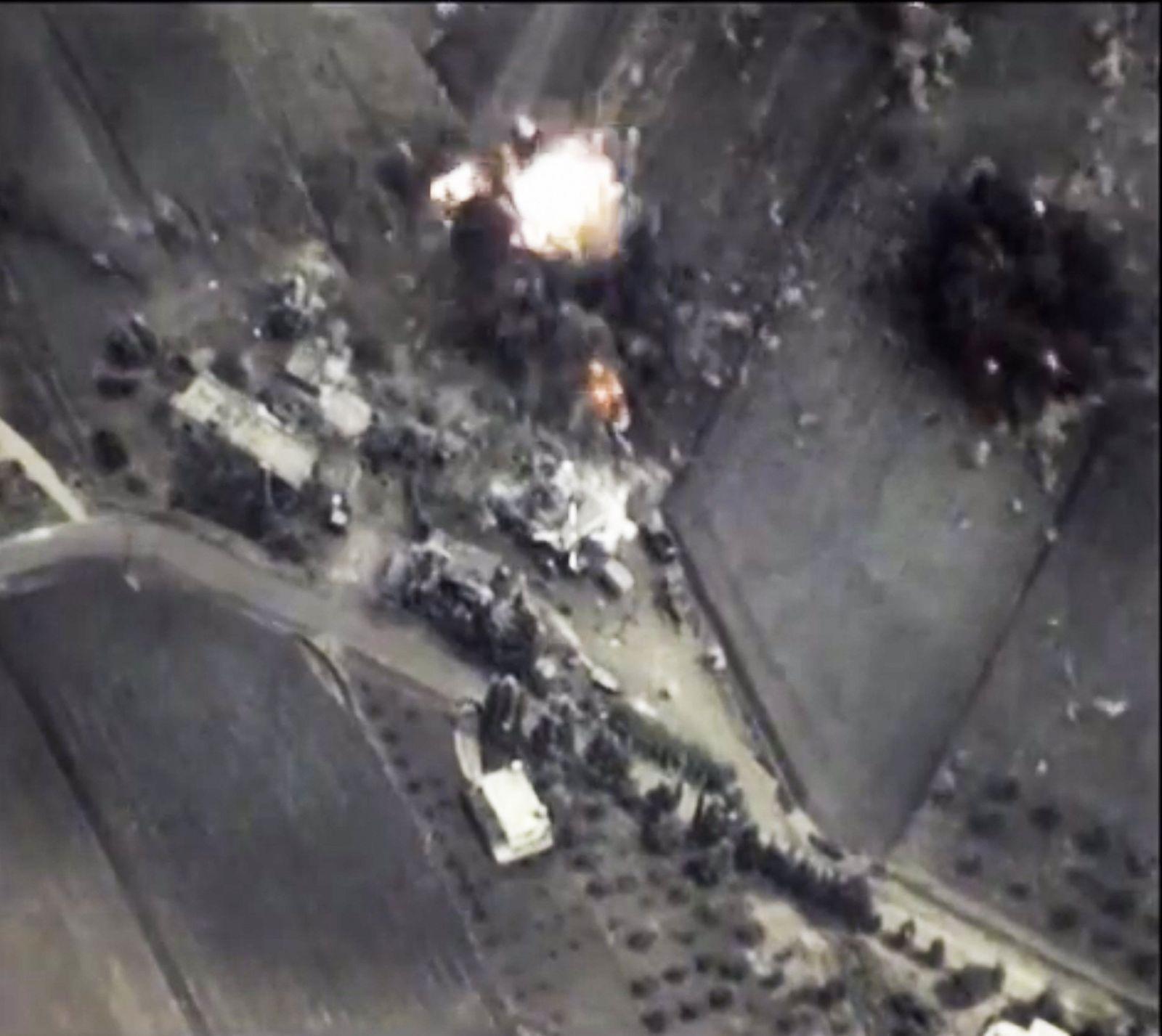 Syrien Russland Luftangriffe