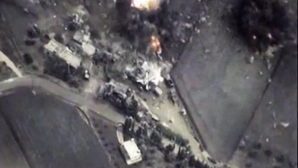 """Explosion in Syrien nach russischem Angriff: """"Freundlicher und professioneller Austausch"""""""