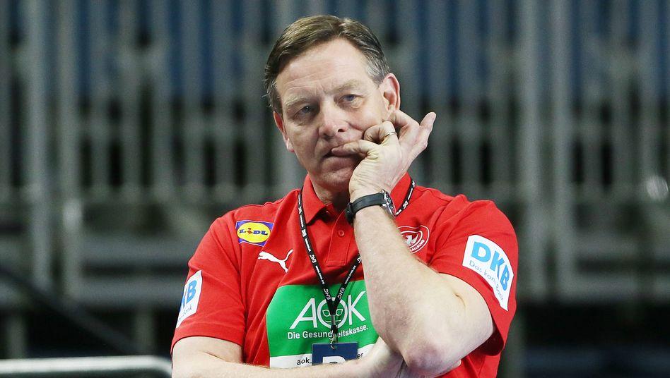 Bundestrainer Alfred Gíslason