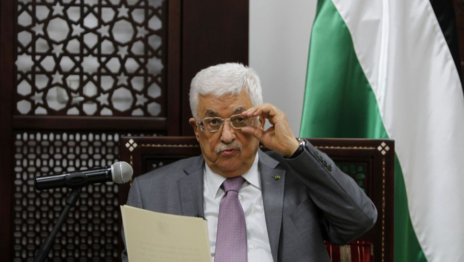 "Präsident Mahmud Abbas: ""Vision des Friedens ist klar"""