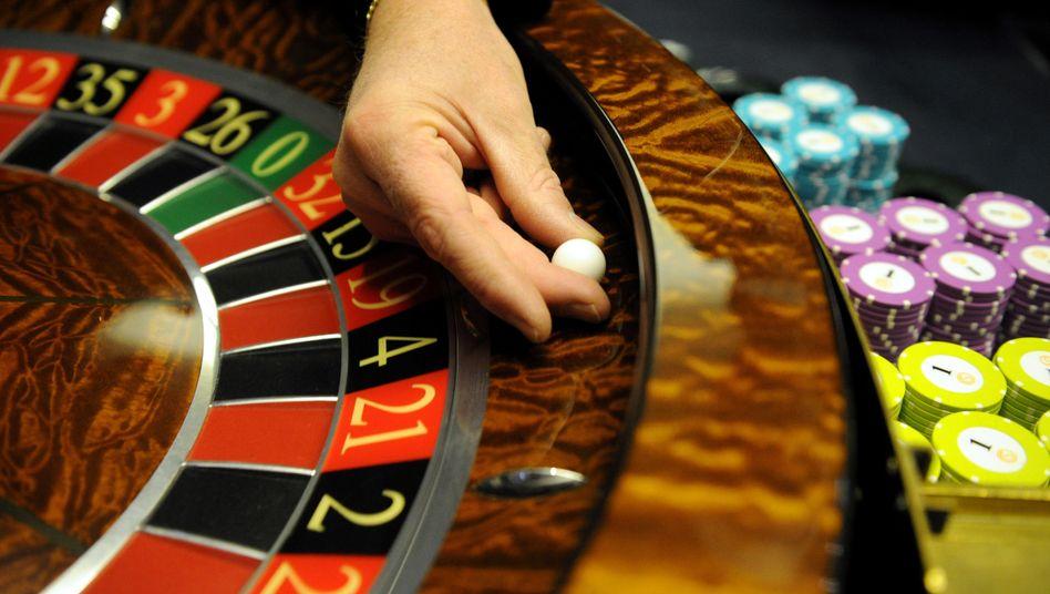 Roulette-Spiel in einem Casino (Symbolbild)