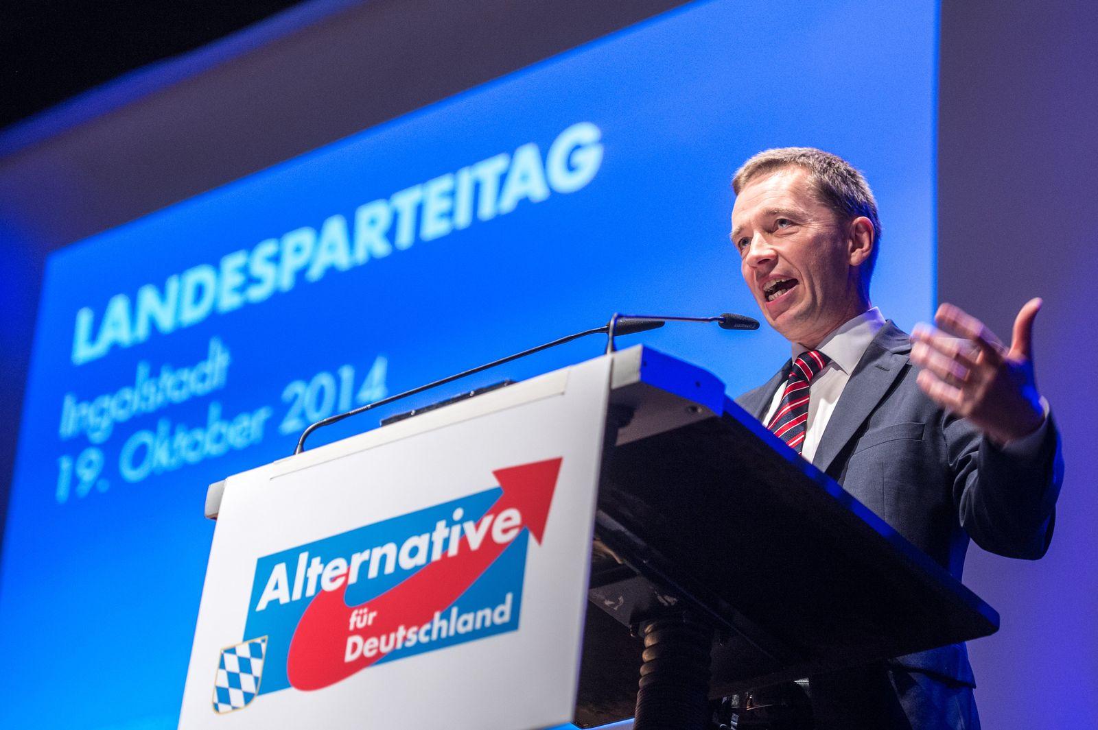 Landesparteitag AfD Bayern Lucke