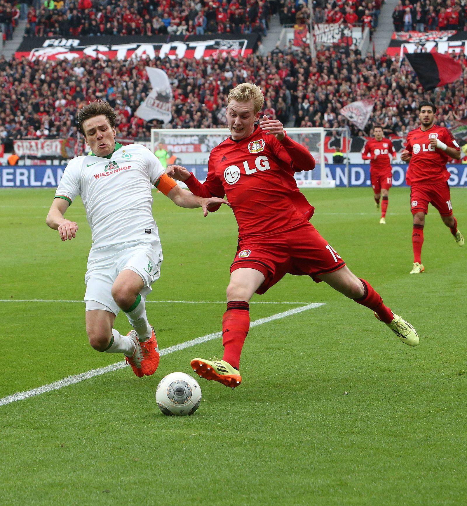 EINMALIGE VERWENDUNG Bayer 04 Leverkusen/ Werder Bremen