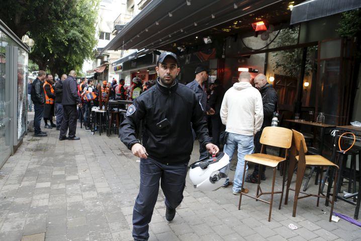 """Anschlag in Tel Aviv (Aufnahme vom Januar 2016): """"Terror unterscheidet sich von Krieg"""""""