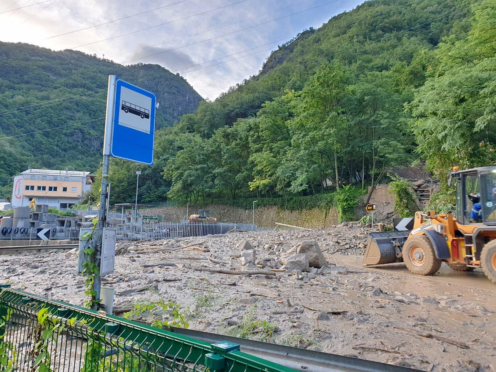 Hochwasser in Südtirol