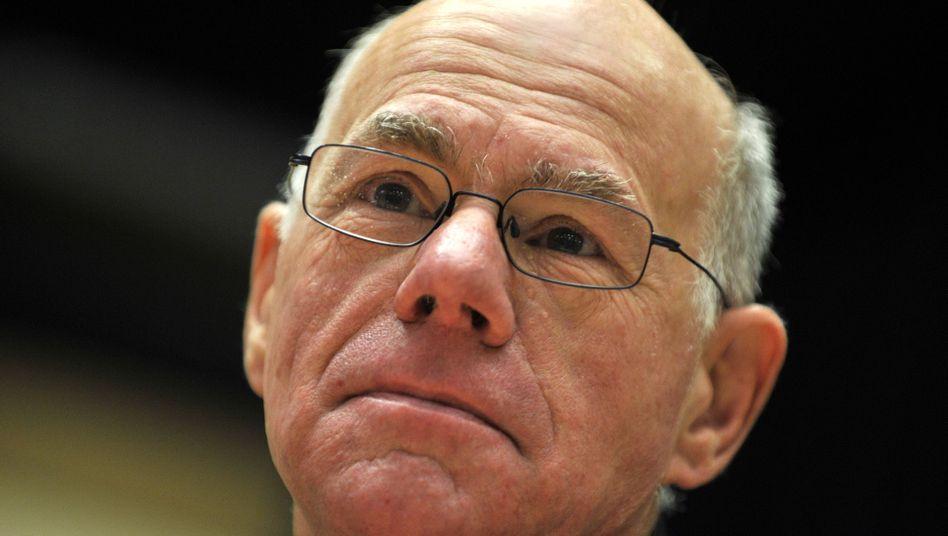 """Bundestagspräsident Lammert: """"Virtuelle Mehrheit im Bundestag"""""""
