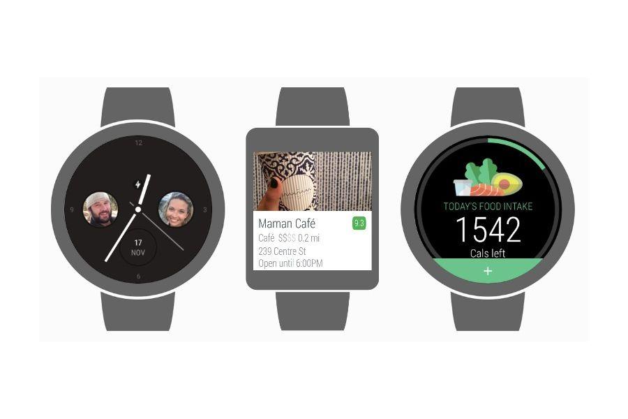 EINMALIGE VERWENDUNG t3n Koop/ Android Wear 2.0