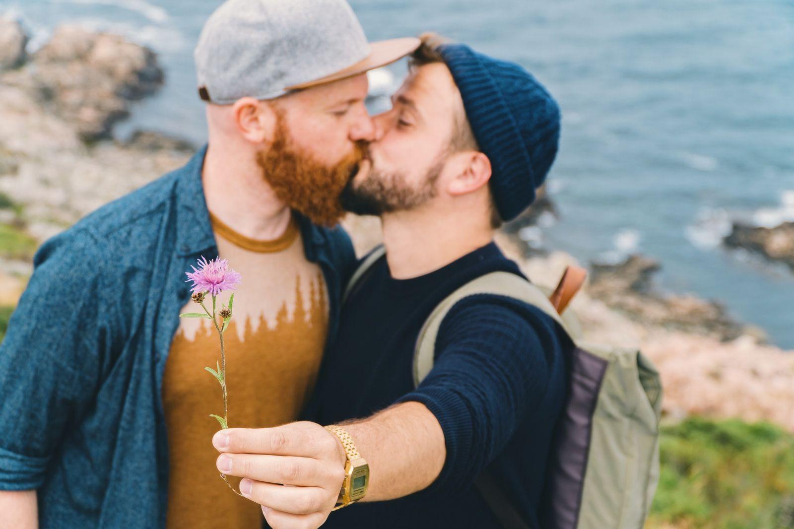 LGBTQ + STORYTELLER - Couple of Men_Daan (left) and Karl (right) in Sweden