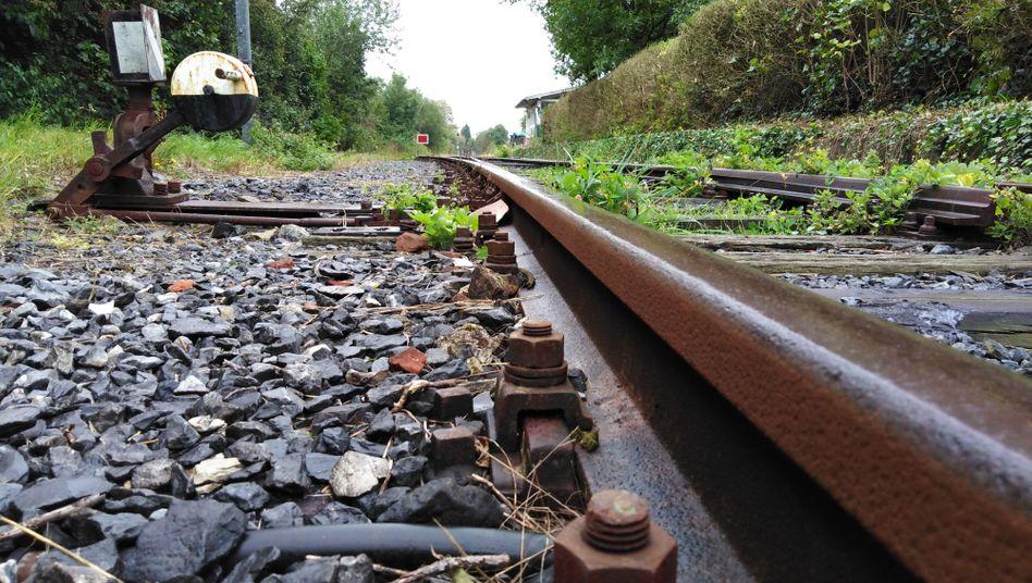 Die Gleise in Sendenhorst sind für moderne Züge noch nicht geeignet
