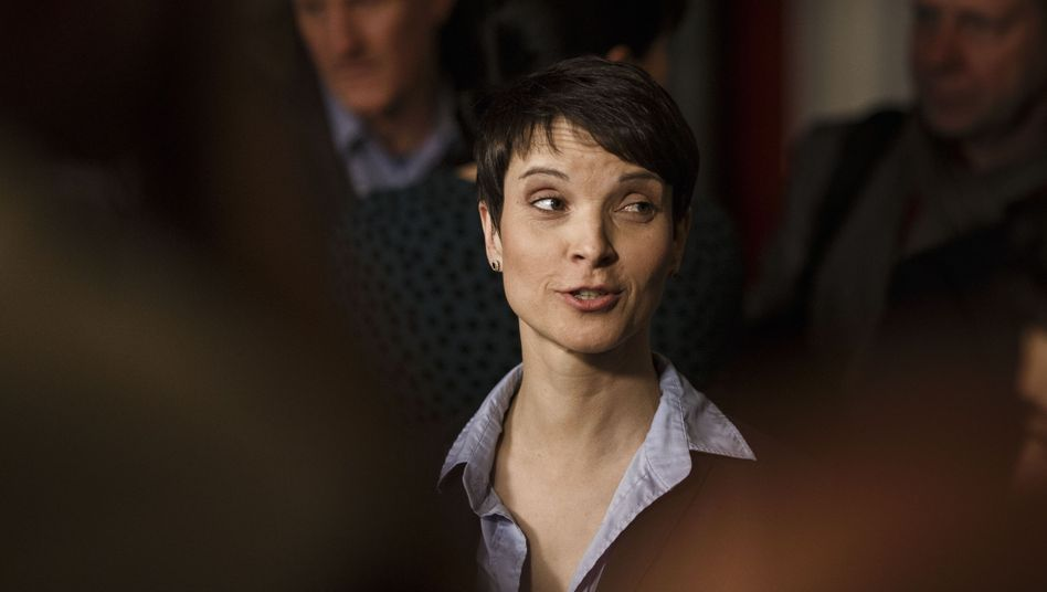 Frauke Petry, head of the right-wing populist Alternative for Germany, guided her party to an historic election result in Sunday state elections.