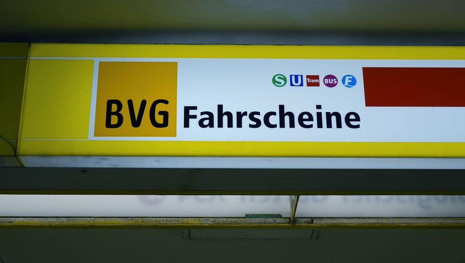 Fahrkartenverkaufsstelle in Berlin-Charlottenburg