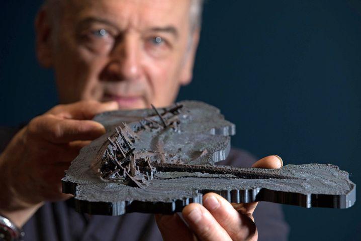 Forscher präsentieren ein 3D-Modell des Wracks