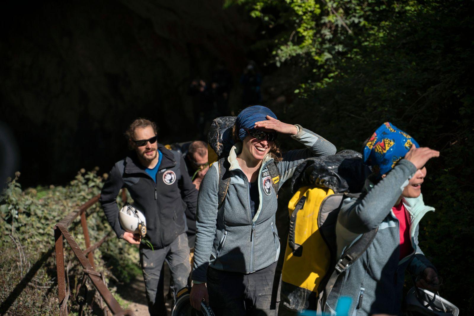 France Cave Researchers