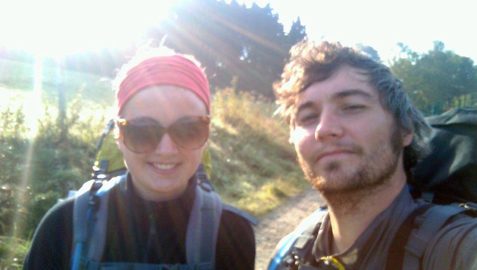 Hannah und Jan: Team Ost wanderte gen Thüringen und verirrte sich dabei fast