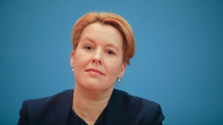 Familienministerin Franziska Giffey (SPD)