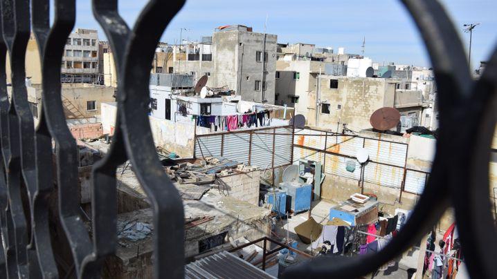 Palästinenser im Lager Wehdat: Warten auf die Zukunft