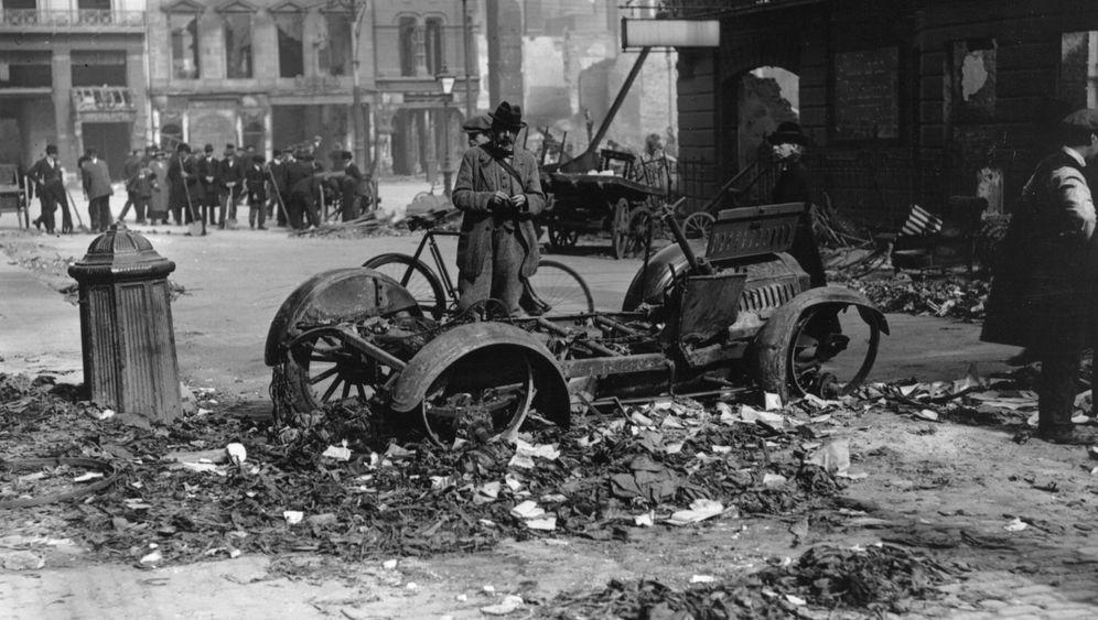 Irischer Osteraufstand: Die Einschusslöcher sind noch deutlich zu erkennen