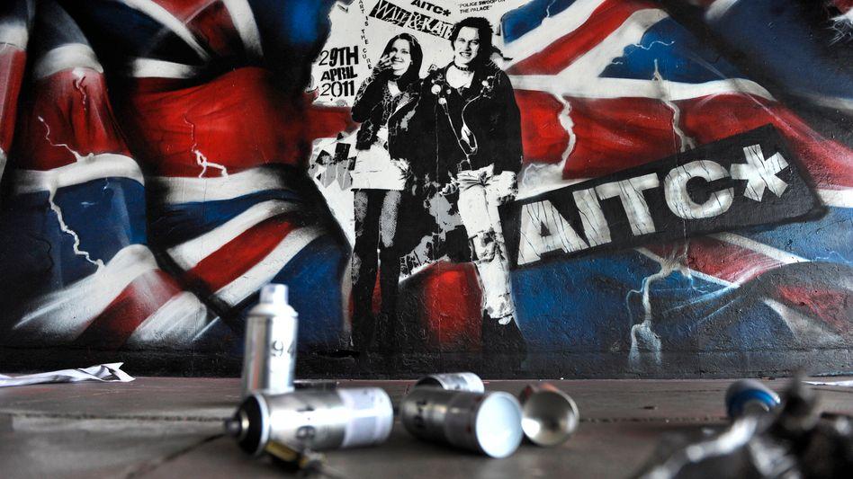 Königlicher Beistand? Prinz William und Gemahlin Kate im Sex-Pistols-Look