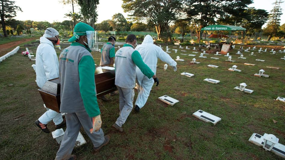 Friedhof in Brasilia: Mehr als 21.000 Todesfälle
