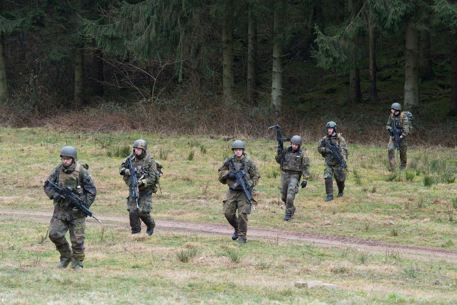 Bundeswehrübung zur Evakuierung von Deutschen aus Krisengebieten