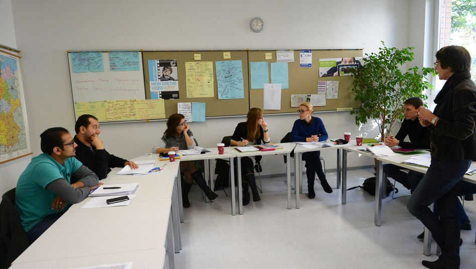Deutschunterricht am Goethe-Institut