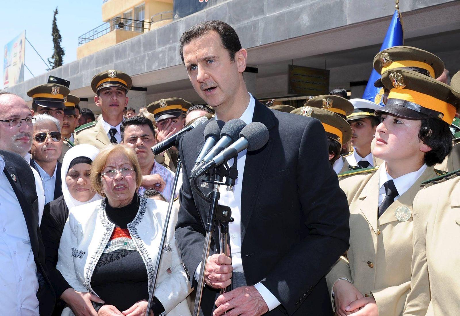 Assad/ Damascus/ Rede