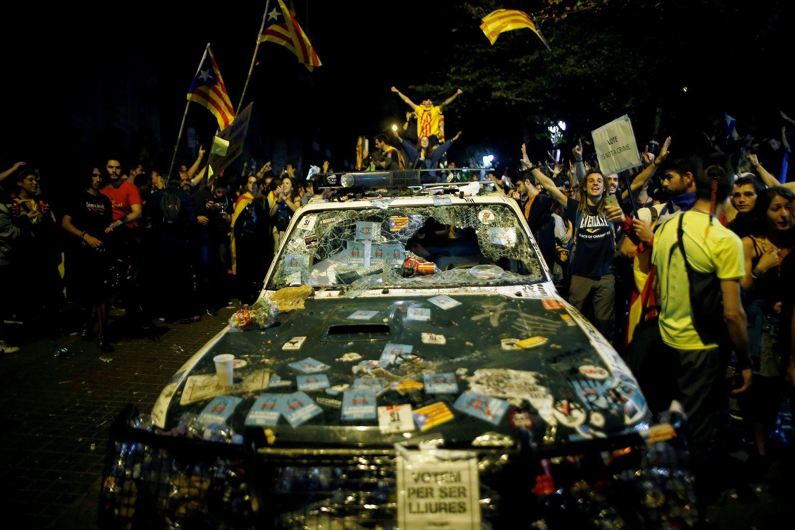 Spainien/ Katalonien/ Proteste/ Unabhängigkeit