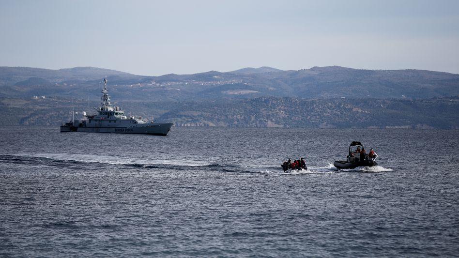 Frontex-Einsatz in der Ägäis