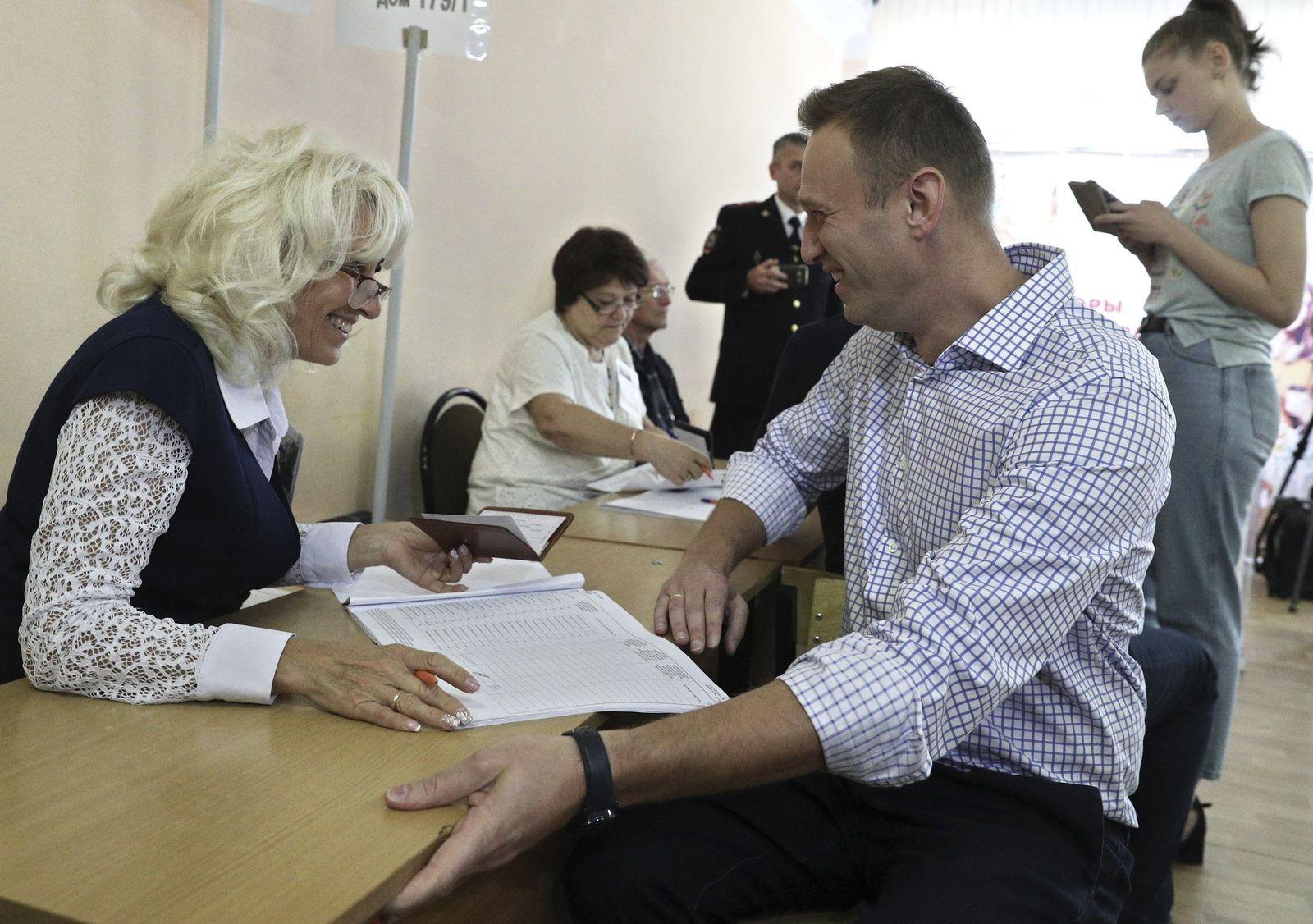 Regionalwahlen/ Russland/ Nawalny