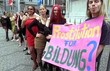 Demo gegen Gebühren (in Düsseldorf): Wütende Proteste