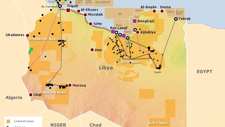 Graphic Gallery: Libya's Oil Industry