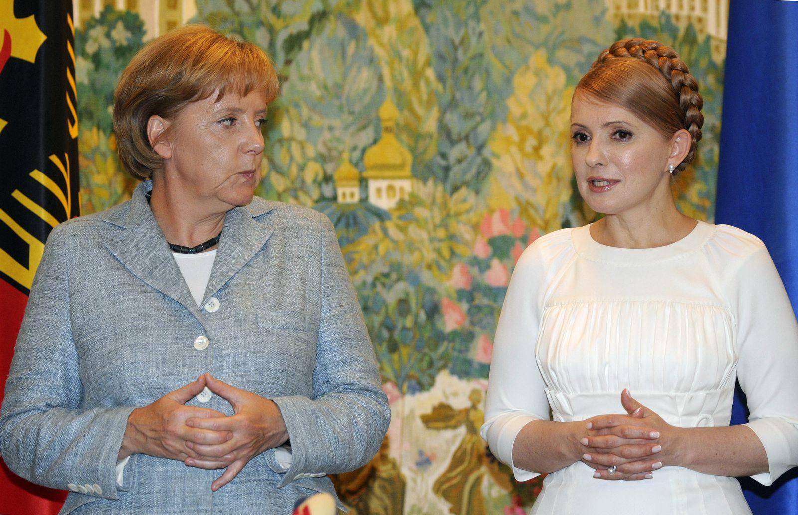 Angela Merkel/ Julja Timoschenko