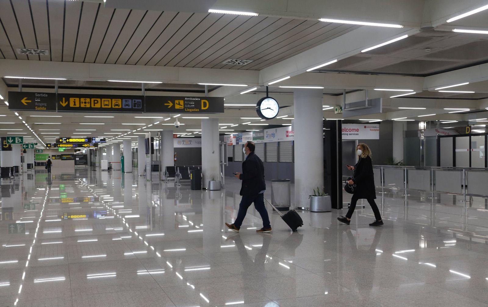Coronavirus - Flughafen Mallorca