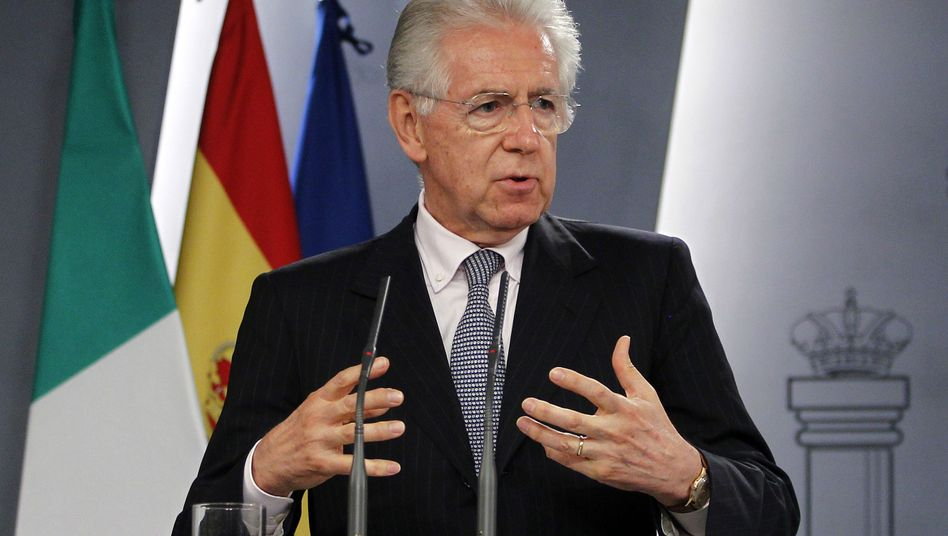"""Italian Prime Minister Mario Monti: """"The autonomy of the parliament in relation to the executive is not up for debate."""""""