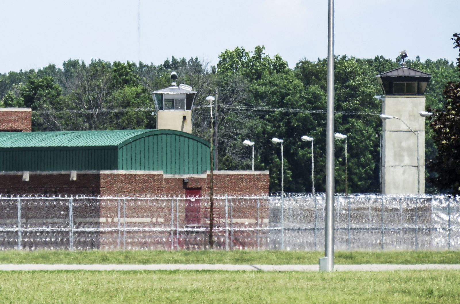 Federal executions resume at the US Penitentiary in Terre Haute, Indiana, USA - 15 Jul 2020