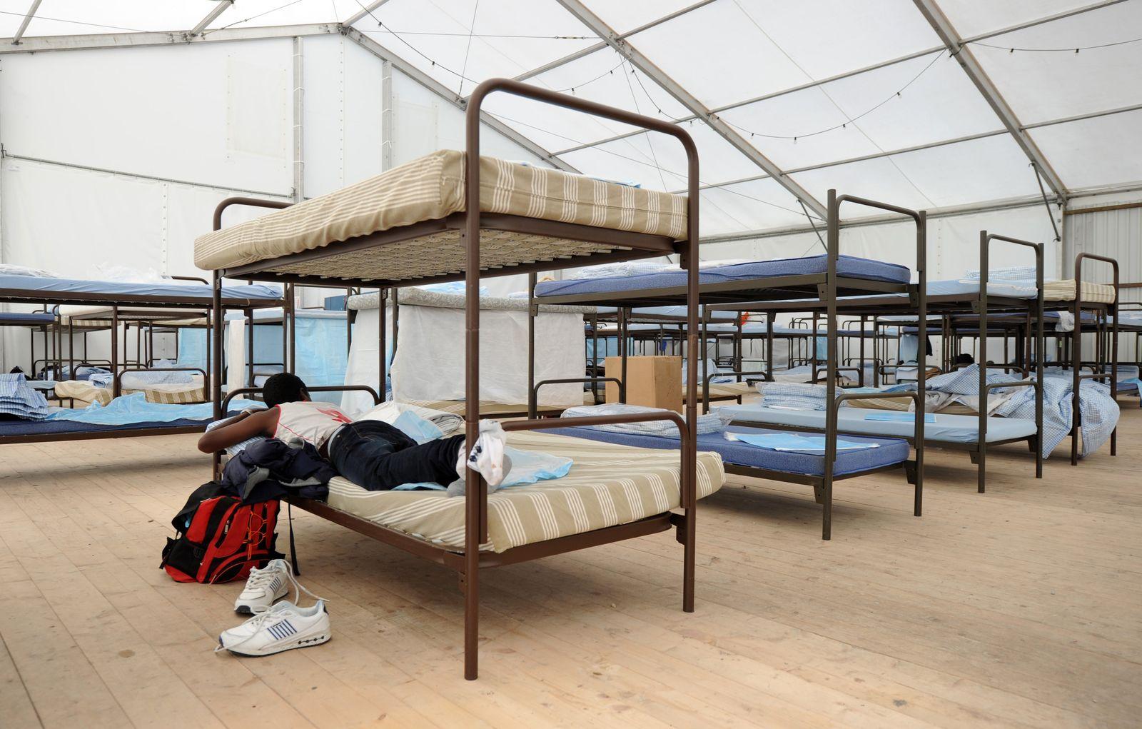 Flüchtlingsheim in München