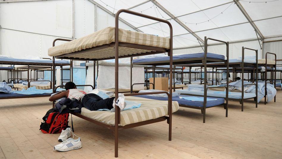 Flüchtlingsunterkunft am Kapuzinerhölzl in Bayern: Kein zusätzliches Geld