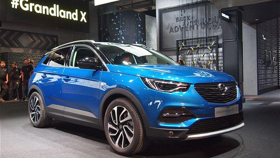Opel-Stand auf der IAA: Hier der neue Grandland X