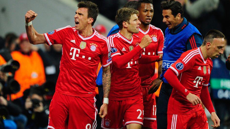 3:1 gegenManchester United: Drei Tore in 17 Minuten -Bayern im Halbfinale