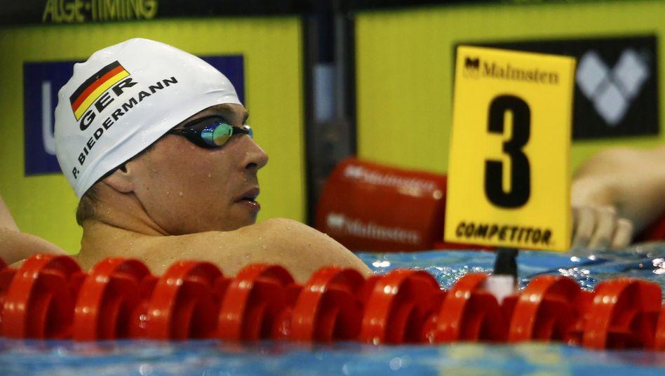 Schwimmer Biedermann: Enttäuschung in Berlin