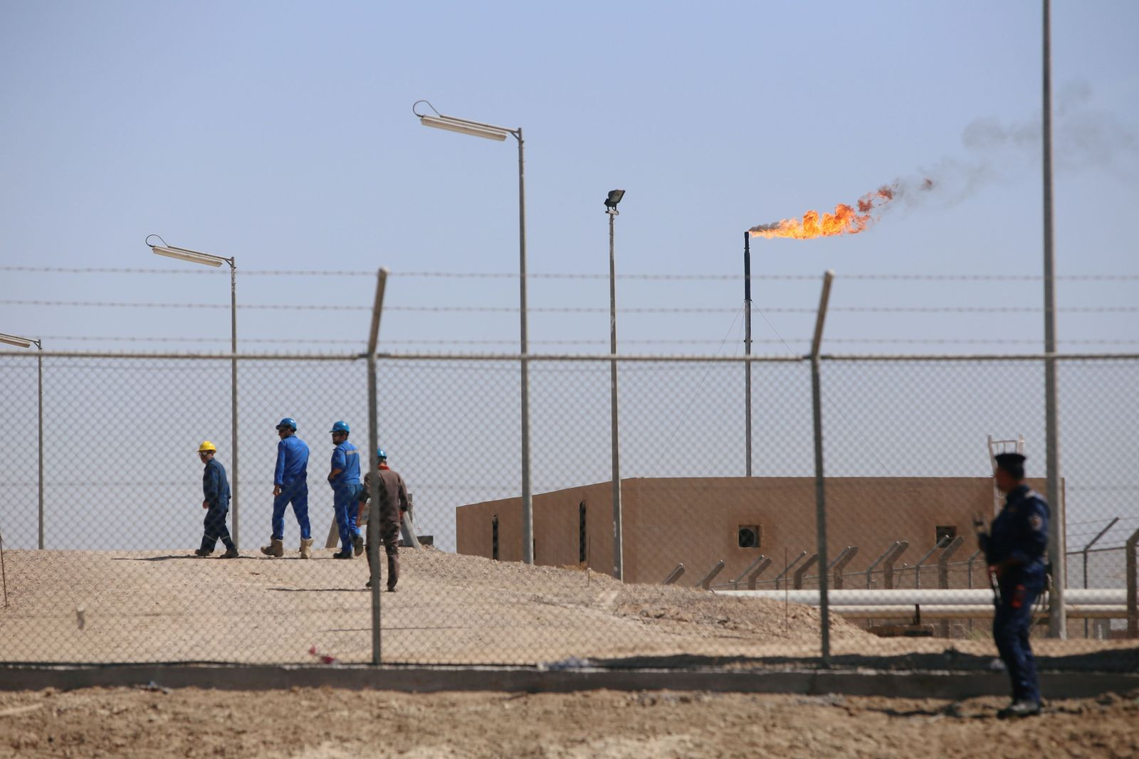 Basra Ölanlage Irak