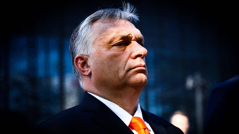 Hungary's populist leader Viktor Orbán: He must be feeling very safe these days.