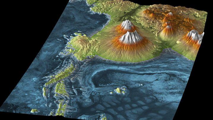 Erde in 3D: Pralle Landschaften